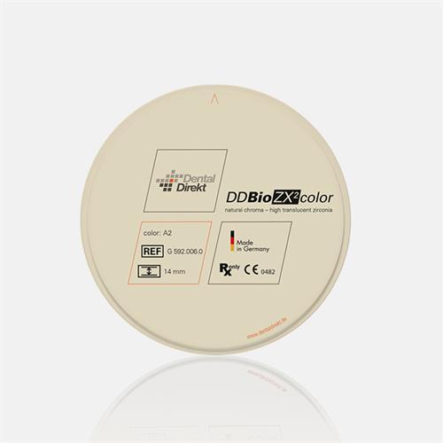 Zirconio DD Bio ZX² color Ø98 H10 C4